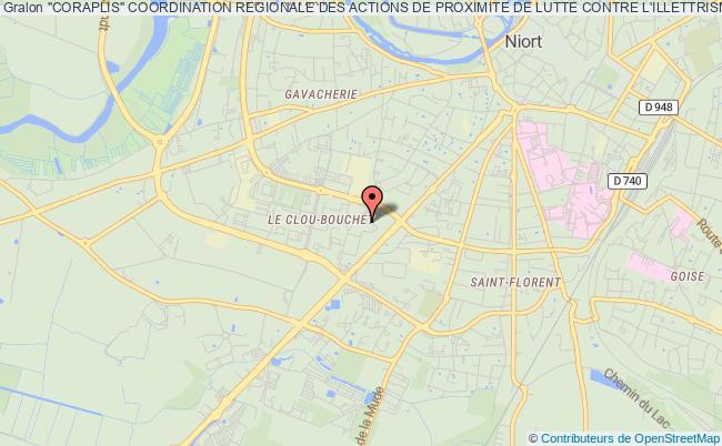 """plan association """"coraplis"""" Coordination Regionale Des Actions De Proximite De Lutte Contre L'illettrisme Et D'acces Aux Savoirs Poitou-charentes - Nouvelle Aquitaine"""