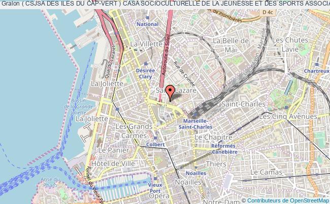plan association ( Csjsa Des Iles Du Cap-vert ) Casa Socioculturelle De La Jeunesse Et Des Sports Associatifs Des Iles Du Cap Vert Marseille