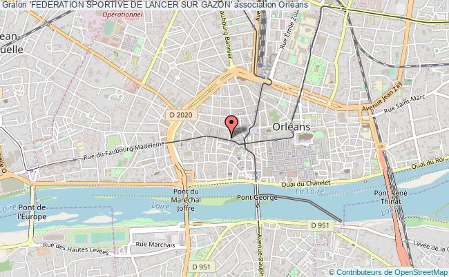 plan association 'federation Sportive De Lancer Sur Gazon'