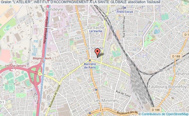 """plan association """"l'atelier"""", Institut D'accompagnement A La Sante Globale"""