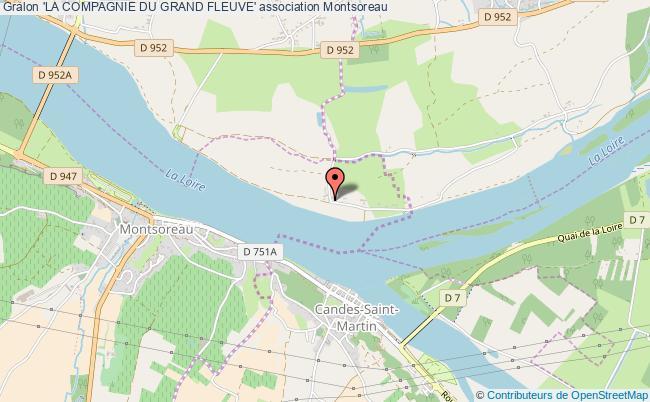 plan association 'la Compagnie Du Grand Fleuve'