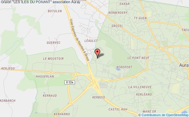 """plan association """"les Iles Du Ponant"""""""