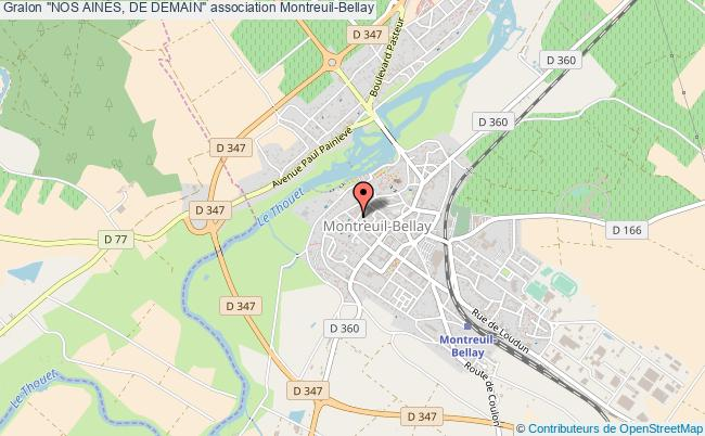 "plan association ""nos AinÉs, De Demain"" Montreuil-Bellay"