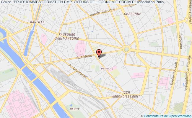 """plan association """"prud'hommes Formation Employeurs De L'economie Sociale"""""""