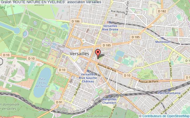 plan association 'route Nature En Yvelines'.