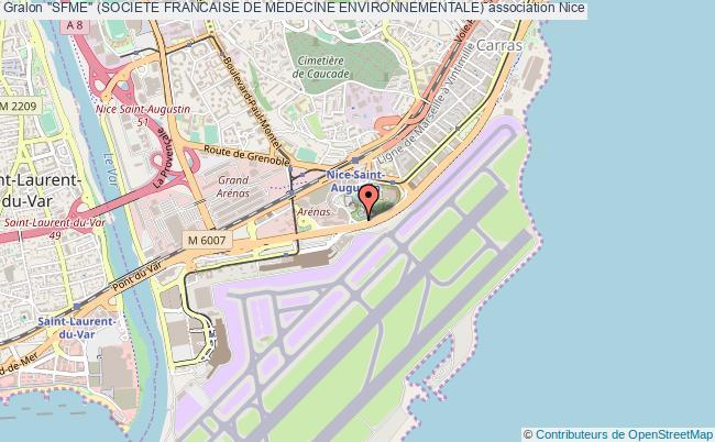 "plan association ""sfme"" (societe Francaise De Medecine Environnementale) Nice"
