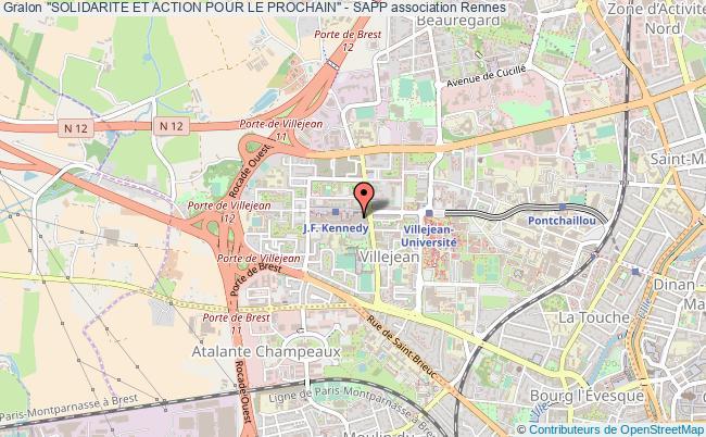 """plan association """"solidarite Et Action Pour Le Prochain"""" - Sapp"""