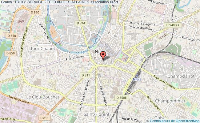 """plan association """"troc"""" Service - Le Coin Des Affaires"""