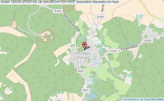 plan association 'union Sportive De Mauregny-en-haye'