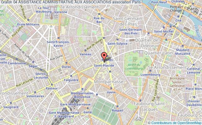 plan association 04 Assistance Administrative Aux Associations