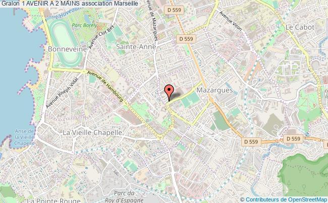 plan association 1 Avenir A 2 Mains Marseille