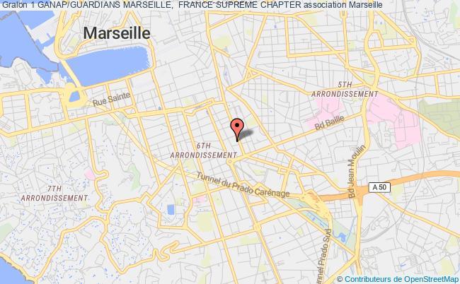 plan association 1 Ganap/guardians Marseille,  France Supreme Chapter