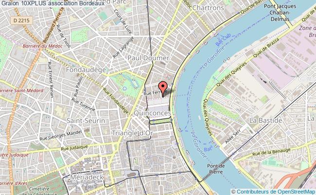 plan association 10xplus Bordeaux