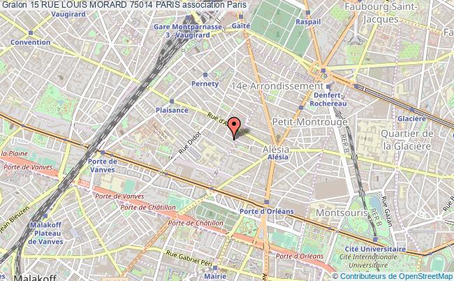 plan association 15 Rue Louis Morard 75014 Paris