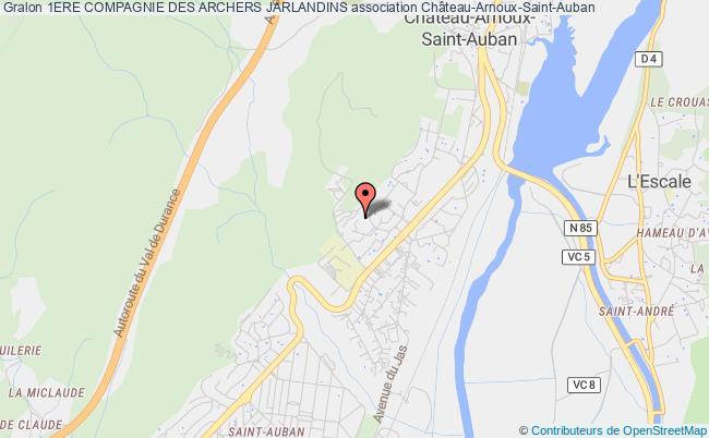 plan association 1ere Compagnie Des Archers Jarlandins