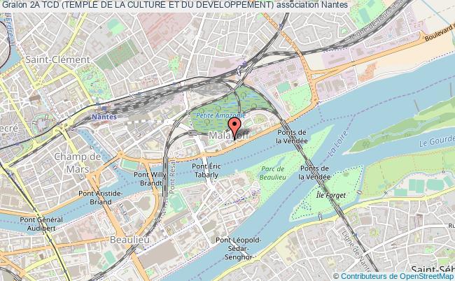 plan association 2a Tcd (temple De La Culture Et Du Developpement)