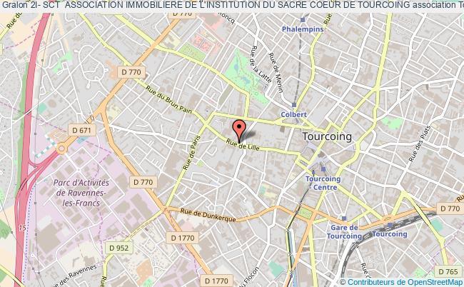 plan association 2i- Sct  Association Immobiliere De L'institution Du Sacre Coeur De Tourcoing