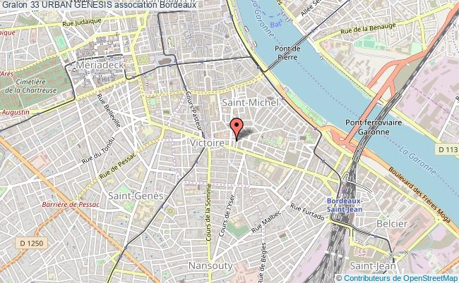 plan association 33 Urban Genesis Bordeaux