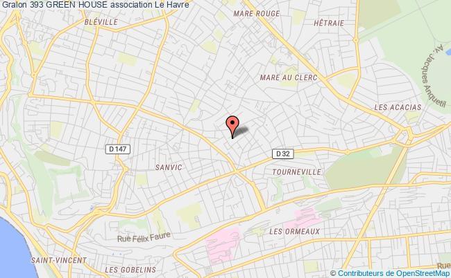 plan association 393 Green House Octeville-sur-Mer