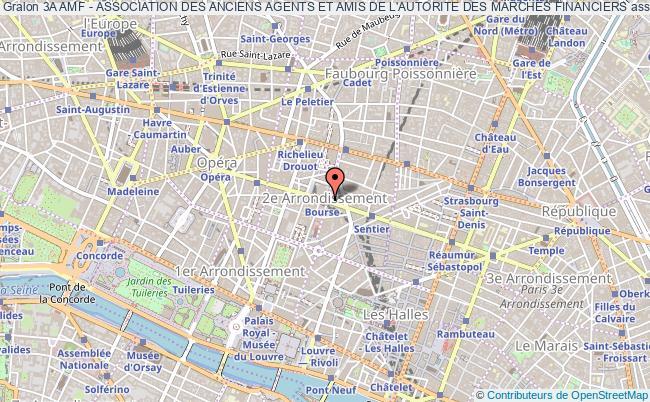 plan association 3a Amf - Association Des Anciens Agents Et Amis De L'autorite Des Marches Financiers