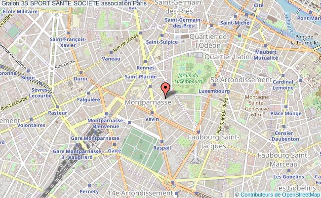plan association 3s Sport Sante Societe