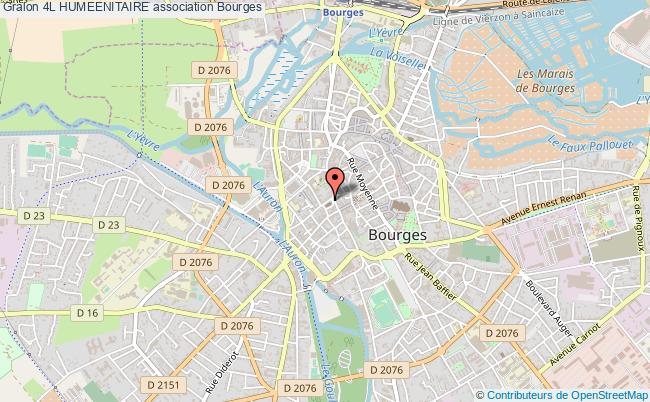plan association 4l Humeenitaire Bourges