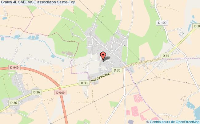 plan association 4l Sablaise Sainte-Foy