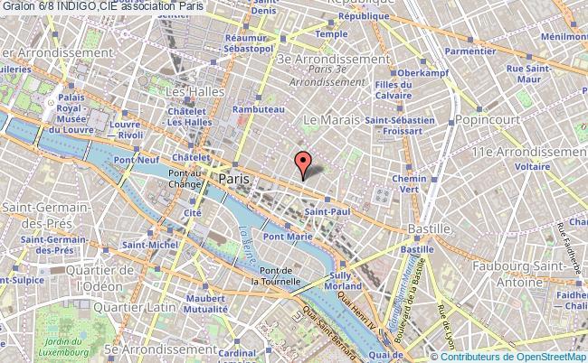 plan association 6/8 Indigo,cie