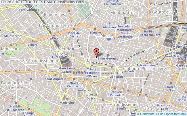 plan association 8-10-12 Tour Des Dames