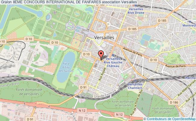 plan association 8Ème Concours International De Fanfares
