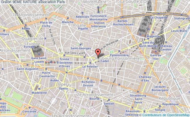plan association 9eme Nature Paris 9e