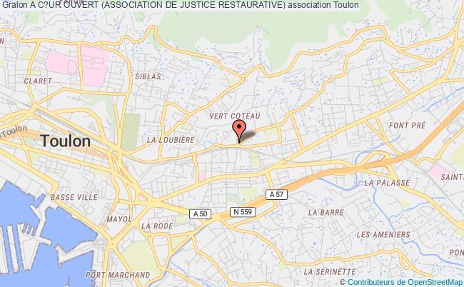 plan association A C?ur Ouvert (association De Justice Restaurative)