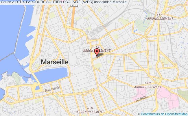 plan association A Deux Parcours Soutien Scolaire (a2pc) Marseille