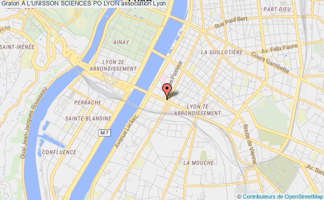 plan association À L'unisson Sciences Po Lyon