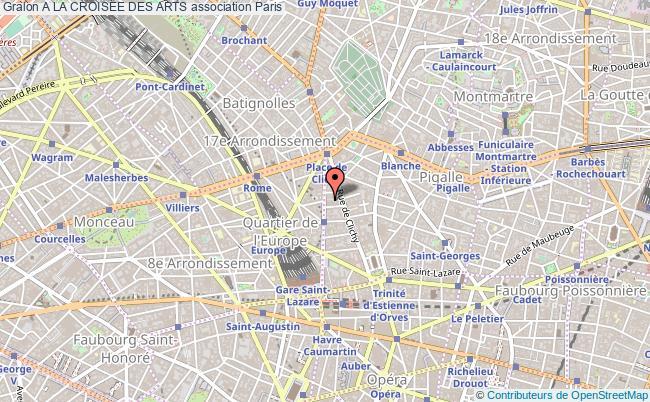 plan association A La Croisee Des Arts
