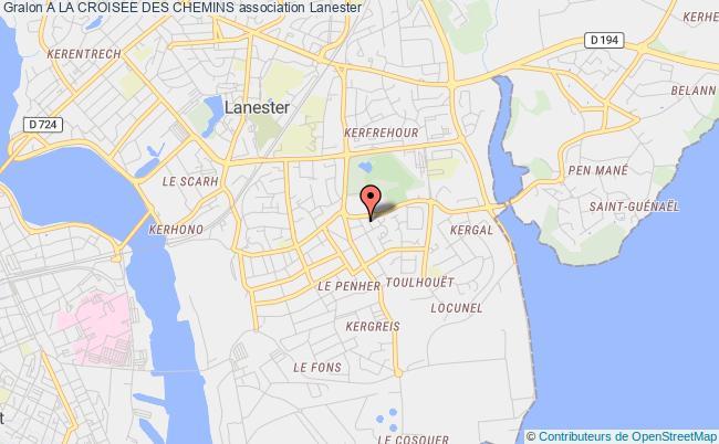 plan association A La Croisee Des Chemins