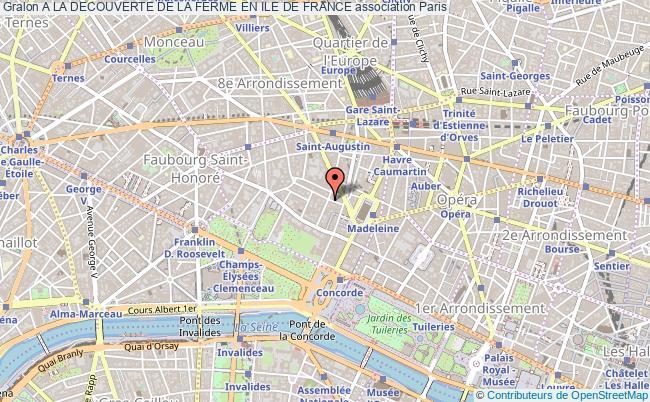 plan association A La Decouverte De La Ferme En Ile De France Paris