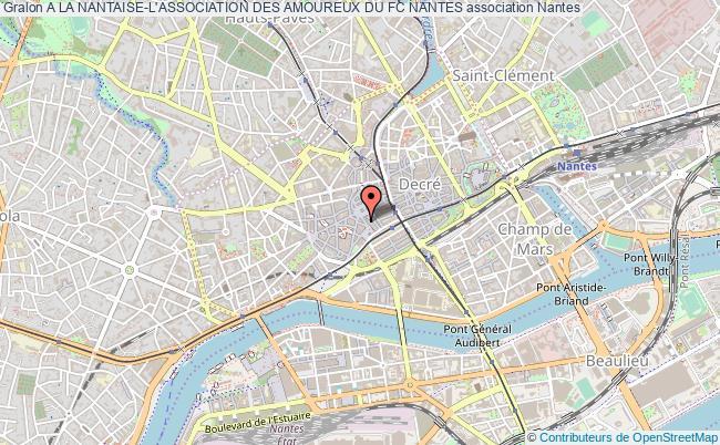 plan association A La Nantaise-l'association Des Amoureux Du Fc Nantes