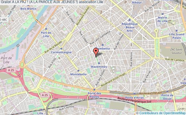 plan association A La Paj ! (a La Parole Aux Jeunes !)