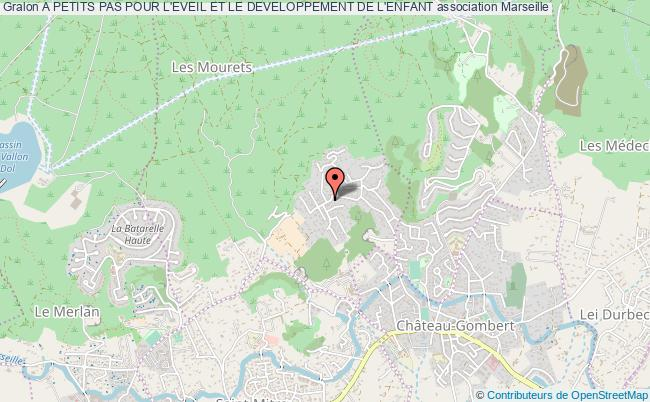 plan association A Petits Pas Pour L'eveil Et Le Developpement De L'enfant Marseille 13e