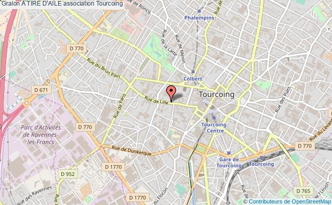 plan association A Tire D'aile Tourcoing
