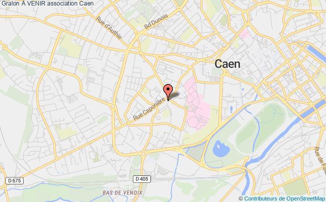 plan association À Venir Caen