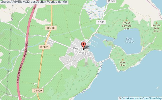 plan association A Vives Voix Peyriac-de-Mer