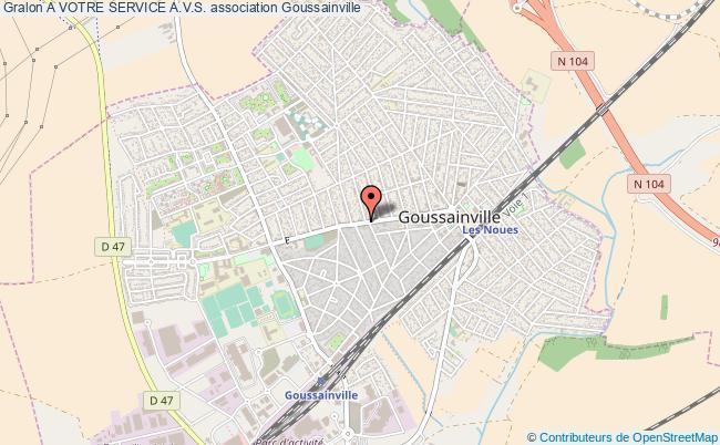 plan association A Votre Service A.v.s. Goussainville