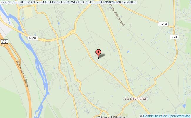 plan association A3 Luberon Accuellir Accompagner Acceder