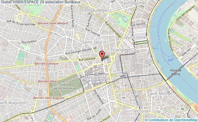 plan association A5bis/espace 29 Bordeaux