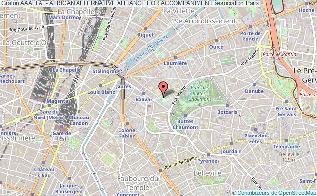 plan association Aaalfa  - African Alternative Alliance For Accompaniment