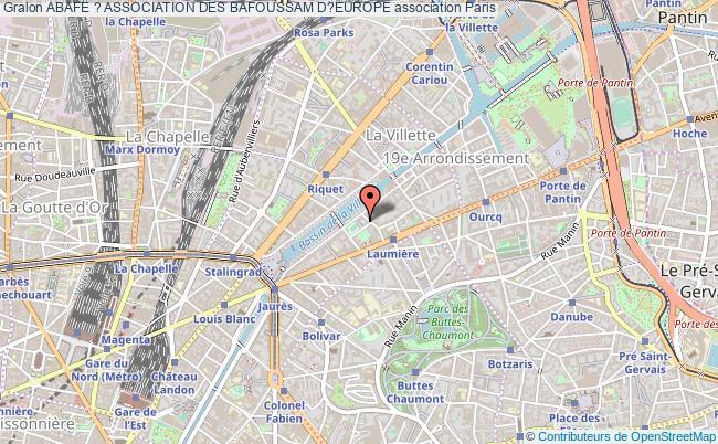 plan association Abafe ? Association Des Bafoussam D?europe