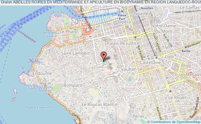 plan association Abeilles Noires En Mediterranee Et Apiculture En Biodynamie En Region Lanquedoc-roussillon, Provence-alpes-cote D'azur (anm&biodynapis Lr/paca)
