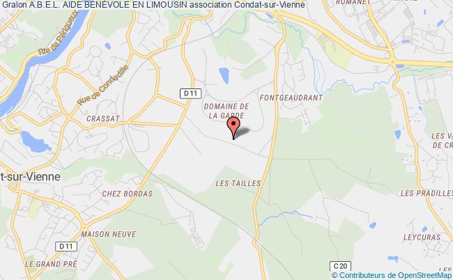 plan association A.b.e.l. Aide BÉnÉvole En Limousin